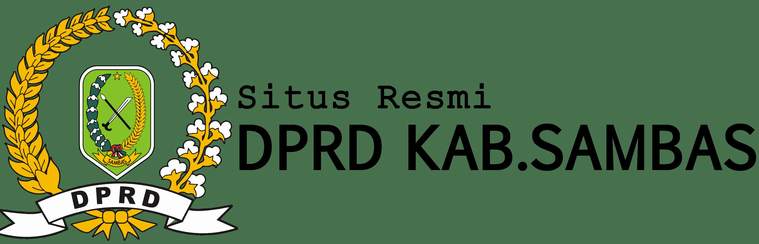 Website resmi DPRD Kabupaten Sambas