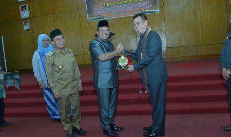 Ketua DPRD Sambut Kunjungan Lemhanas Ke Sambas