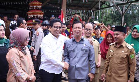 Ketua DPRD Apresiasi Kunker Menteri Desa Ke Kabupaten Sambas