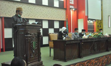 Fraksi – Fraksi sampaikan Pandangan Umum Atas Penjelasan Bupati terhadap Pertanggungjawaban APBD 2019