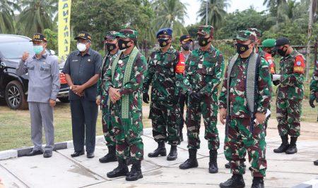 DPRD Sambas Hadiri Kunker Pangkogabwilhan 1  Di Temajuk