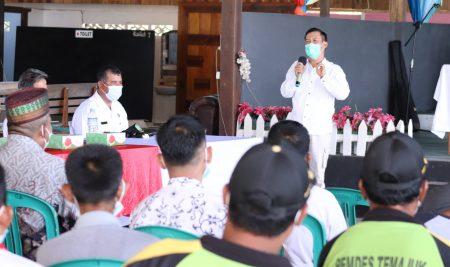 Ketua DPRD Apresiasi Penyuluhan Redistribusi TORA yang digelar BPN Sambas