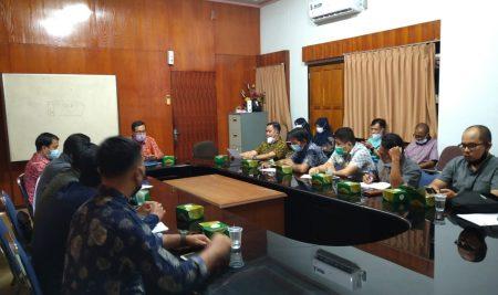 Koordinasi terkait Pemekaran dan Tapal Batas, Komisi I DPRD Sambas kunjungi Biro Tapem Prov KALBAR